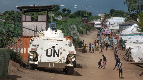 United Nations base in South Sudan's capital Juba