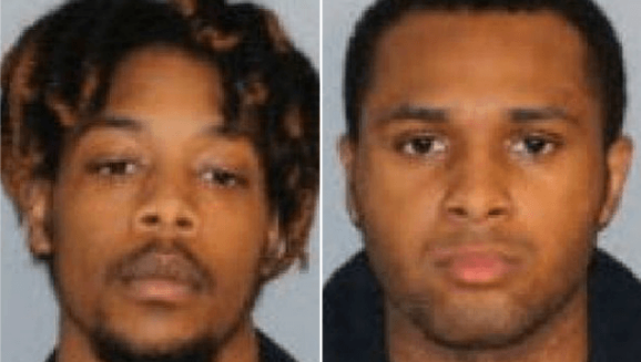 Isiah Dequan Hayes, 19, and Daireus Jumare Ice, 22