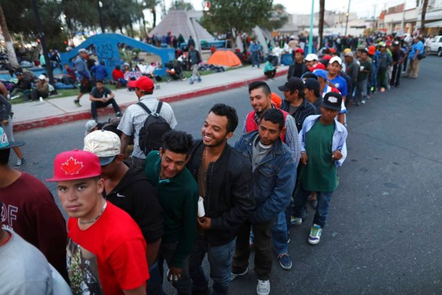 Central American migrants,