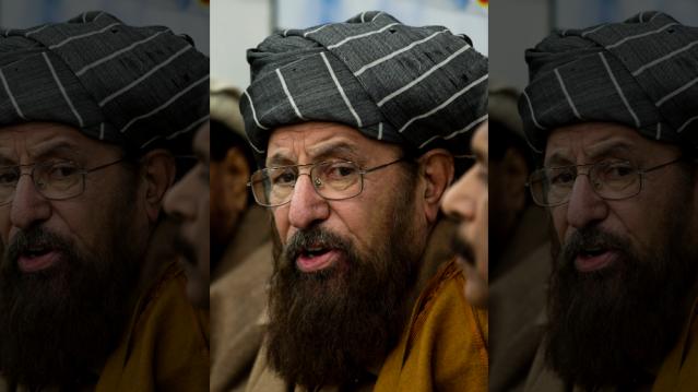 Pakistani religious cleric, Samiul Haq