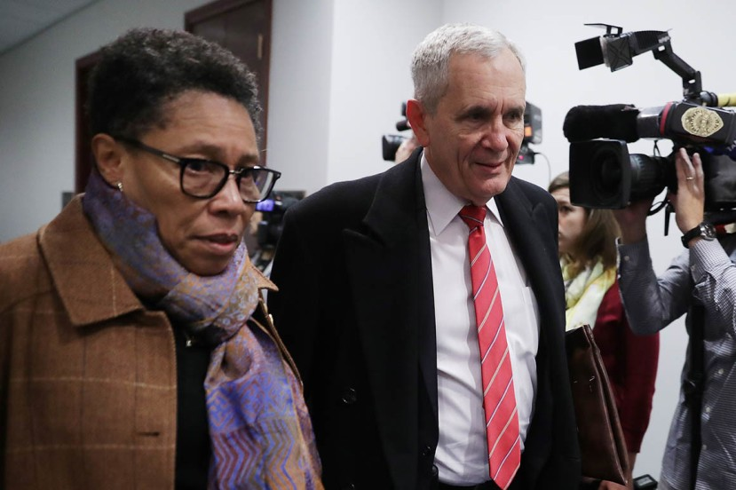 Rep. Marcia Fudge, pictured here with Rep. Lloyd Doggett,