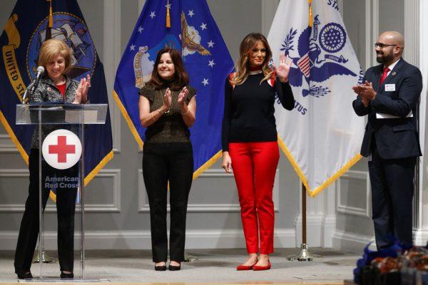 First lady Melania Trump,