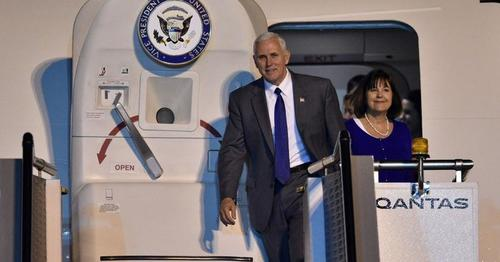 Pence head to Asia, via USA Today