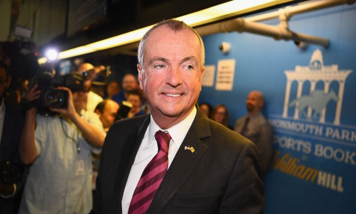 The governor of New Jersey, Phil Murphy