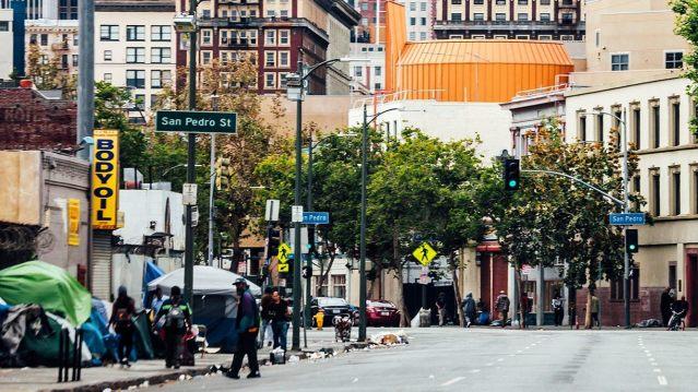 Skid Row's Los Angeles