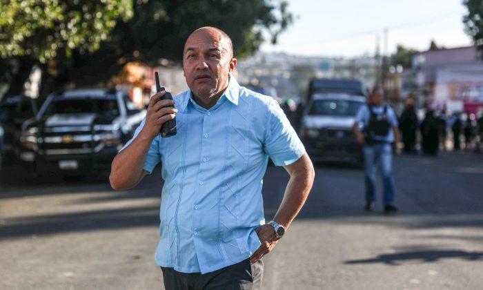 Tijuana Police Chief Mario Martinez