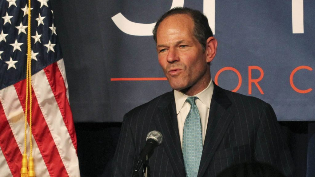 New York Gov. Eliot Spitzer