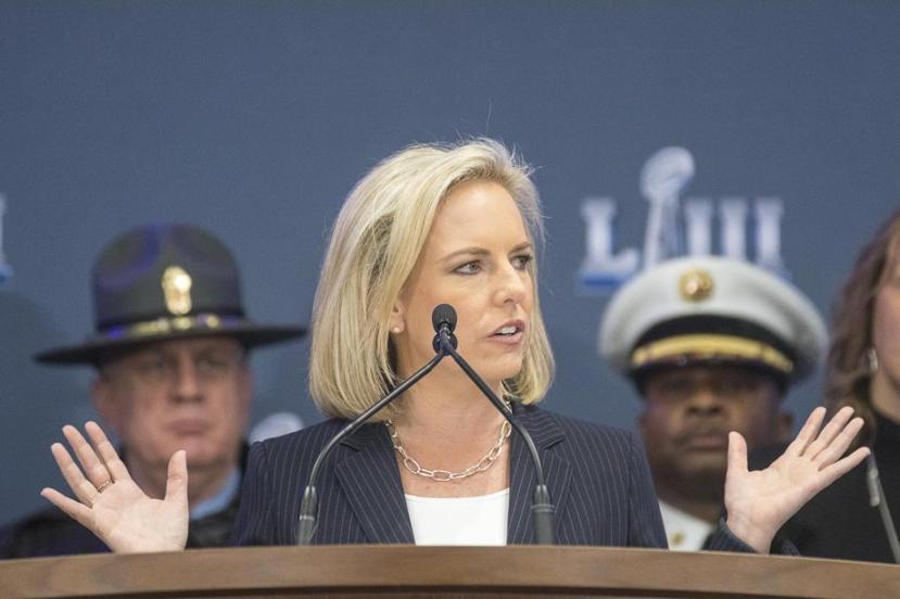 Kirstjen Nielsen, Secretary of Homeland Security,