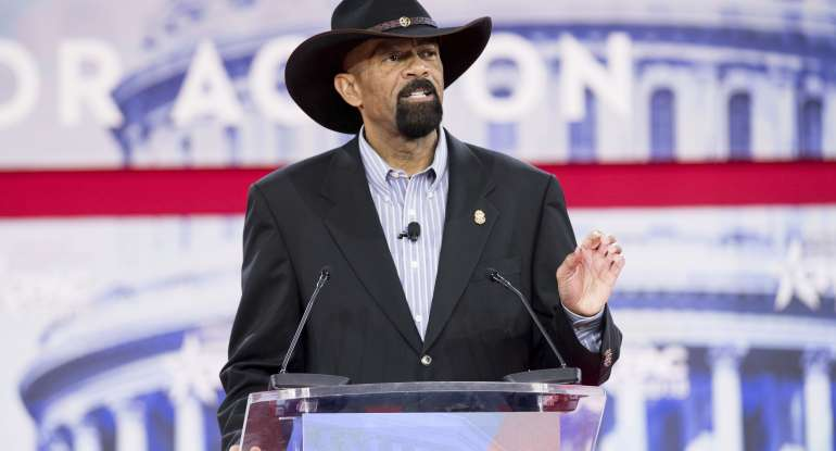 David Clarke, former Sheriff of Milwaukee County,