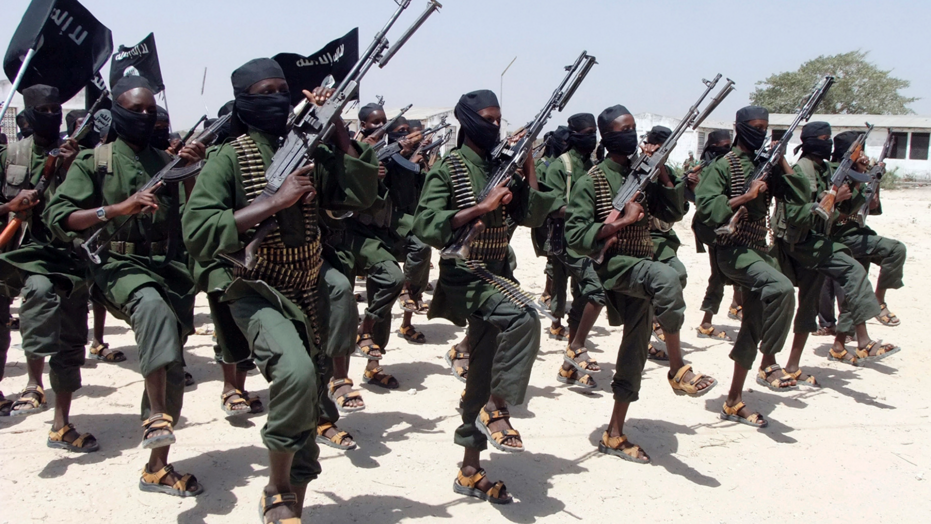 Hundreds of newly trained al-Shabab fighters