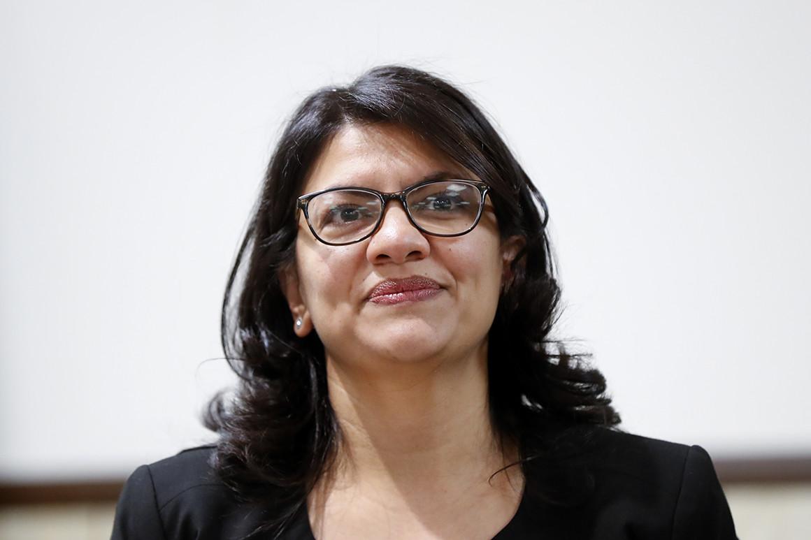 Rep. Rashida Tlaib,