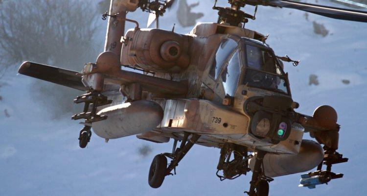 Israel Air Force Boeing AH-64 Apache (Flash90/Ofer Zidon)