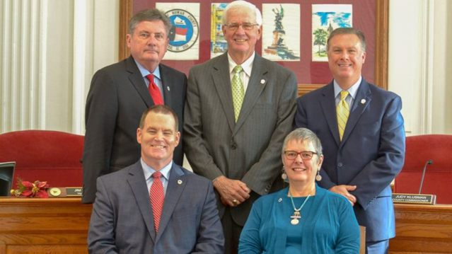 Rowan County commissioners in North Carolina