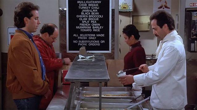 """Seinfeld"" ""Soup Nazi"""