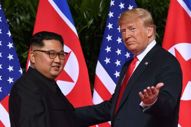 President Donald Trump Kim Jong Un