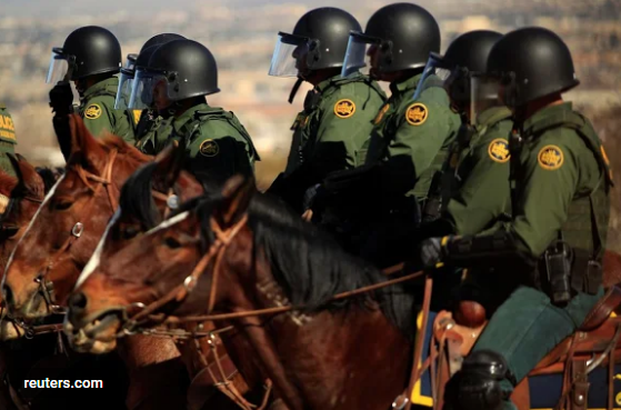 Agents of El Paso Sector U. S. Border Patrol