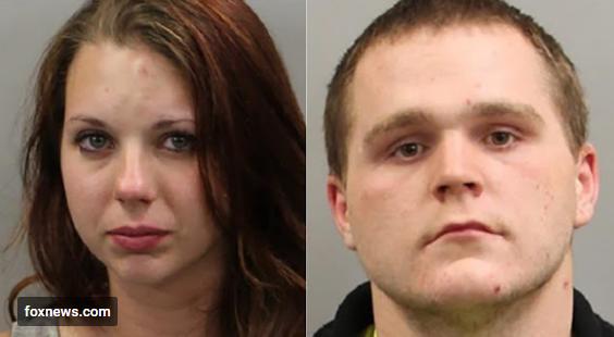 Bryce Mason, 23, and his girlfriend, Gracelynn Bradeberry,