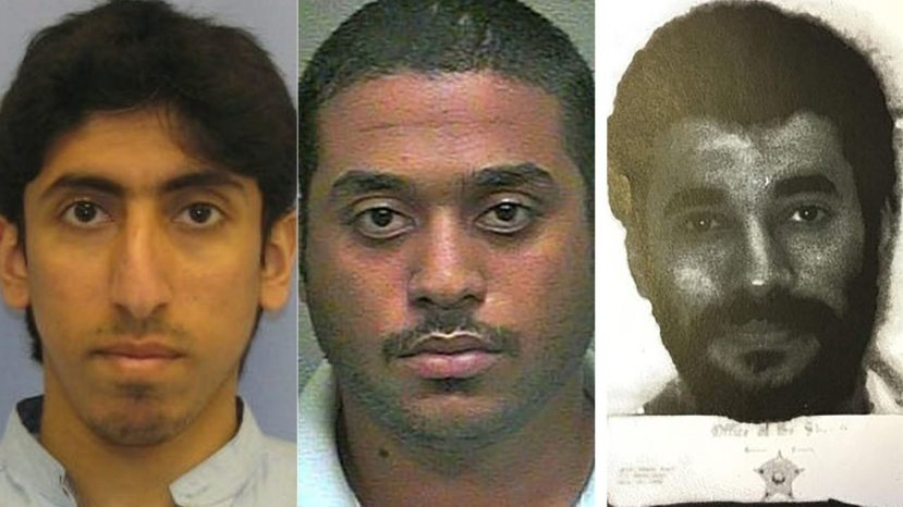 Some of the faces of Saudi nationals who have escaped justice in the U.S.