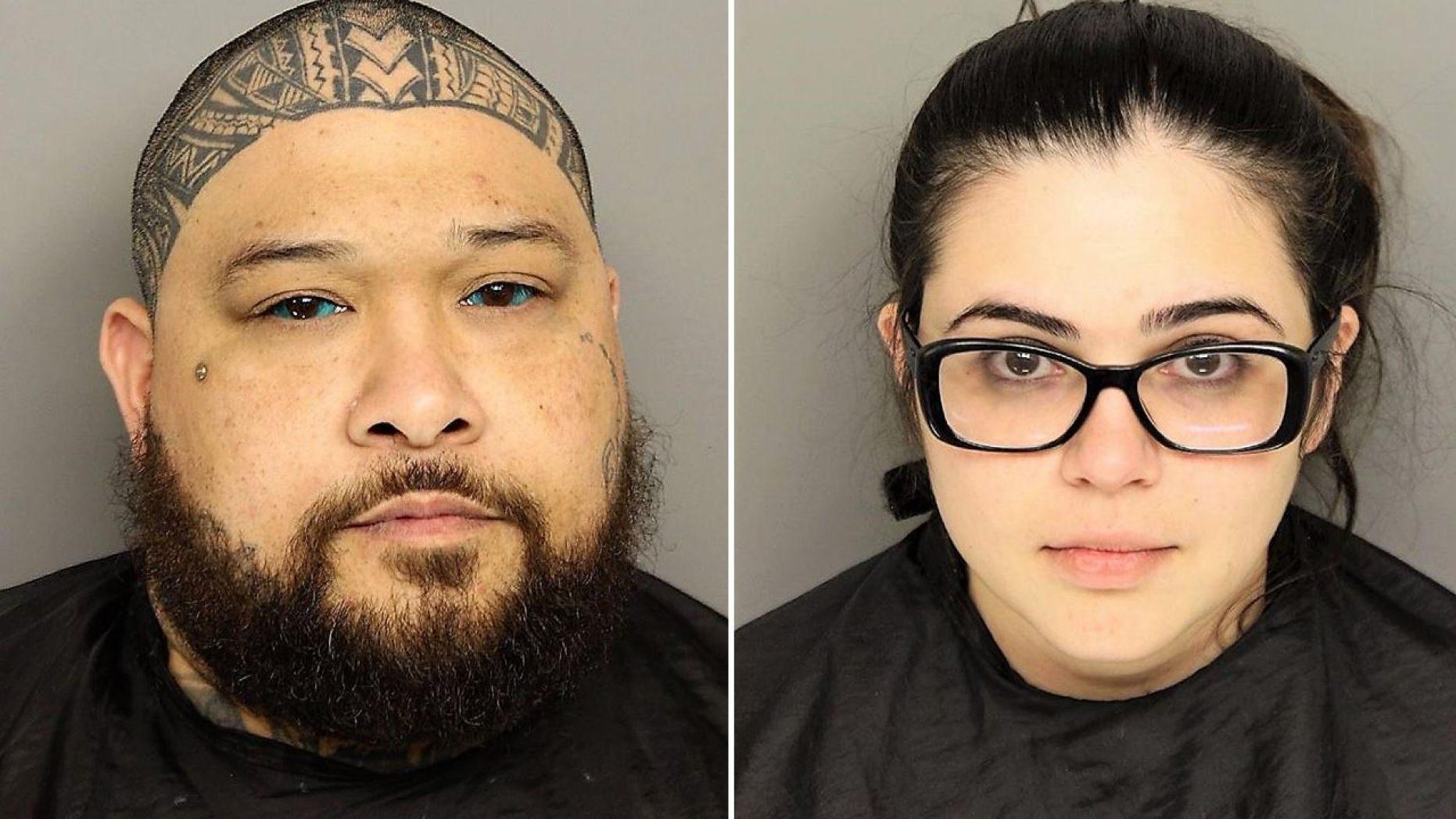 Sabrina Irene Emerick, 25, and her boyfriend Robert Earl Kailiala Saladaga, 37,