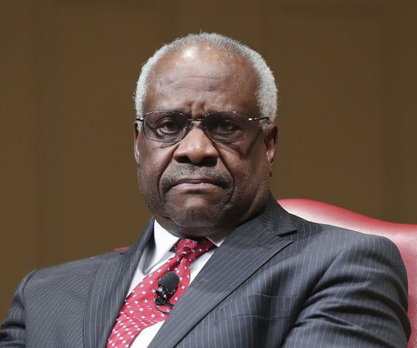 Supreme Court Associate Justice Clarence Thomas.