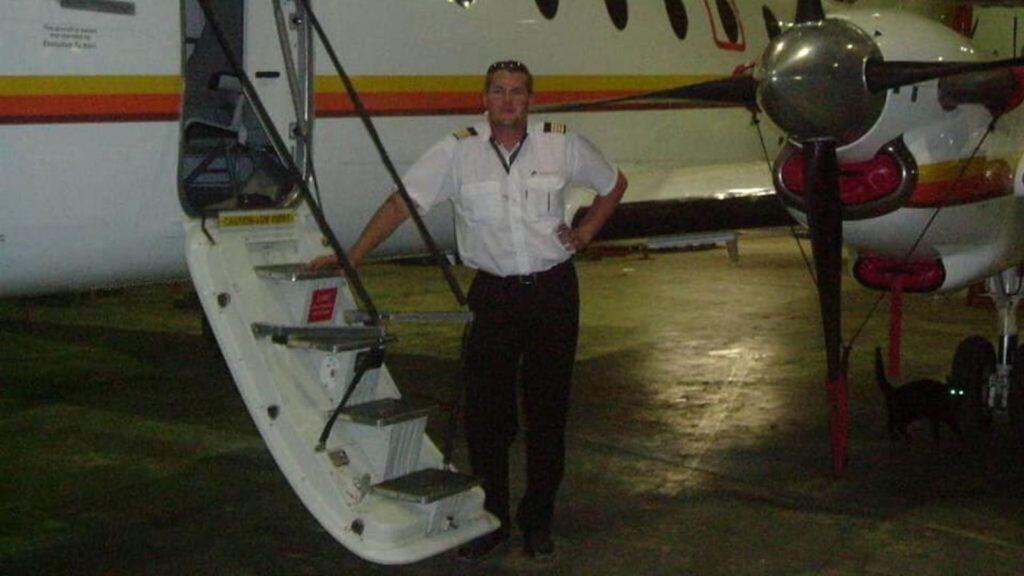 Pilot Charl Viljoen