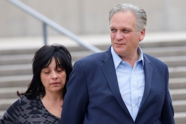 Edward Mangano, Nassau County Executive, and his wife Linda,