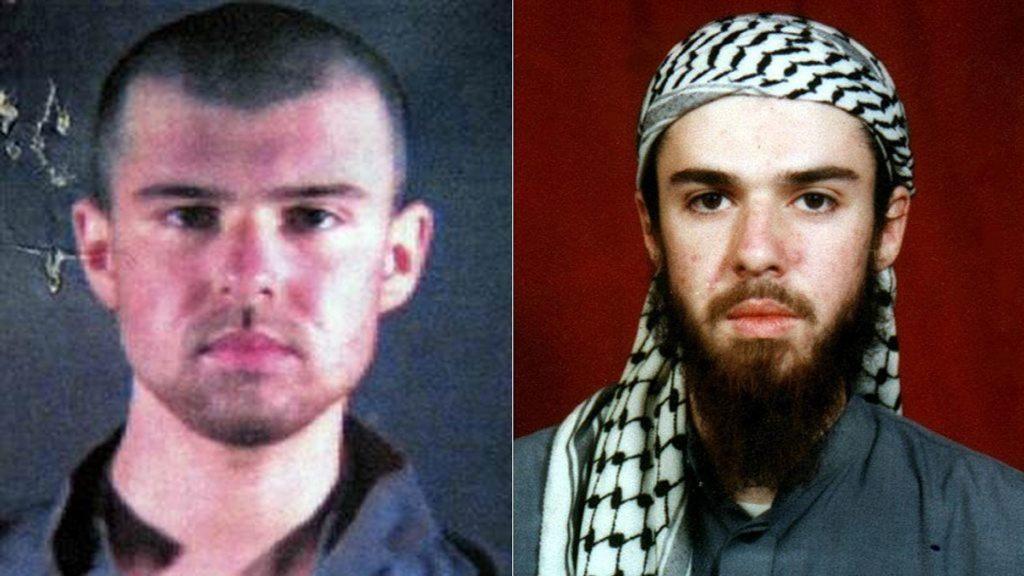 John Walker Lindh, a former American Taliban militant,