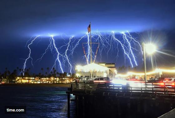 """copious"" lightning strikes"