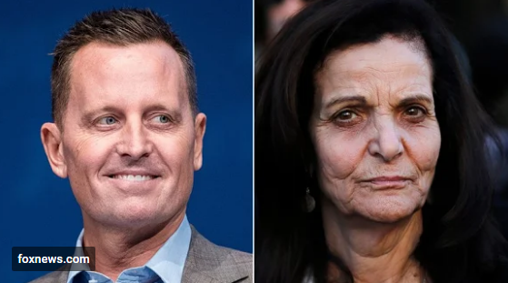 Richard Grenell (left)Rasmea Odeh (right)