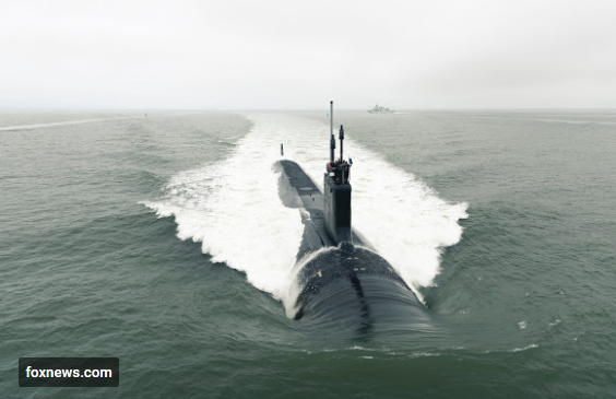 The Virginia-class attack submarine Pre-Commissioning Unit (PCU) Indiana (SSN 789)