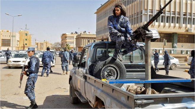 Gen Haftar's forces