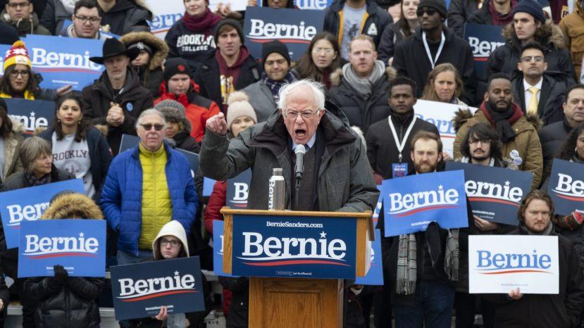 Sen. Bernie Sanders, I-Vt.,