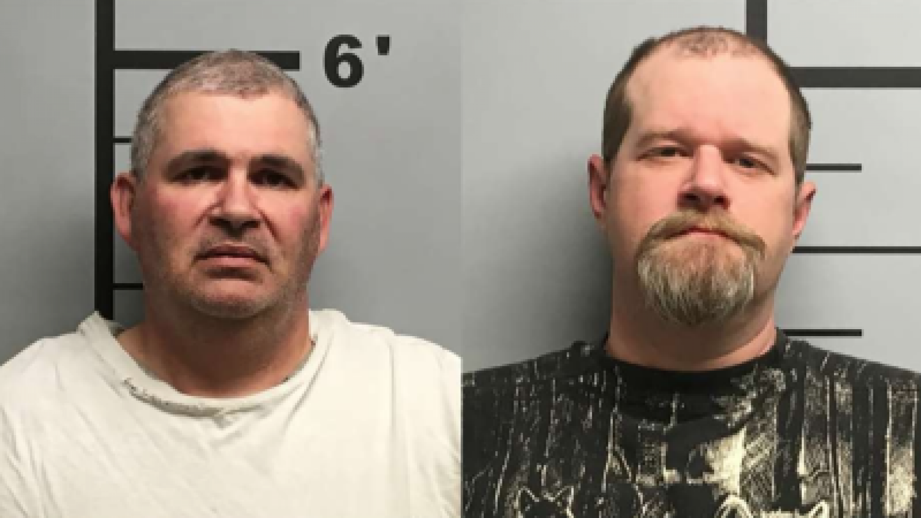 Charles Eugene Ferris, 50, and Christopher Hicks, 36,