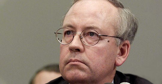 independent counsel Ken Starr.