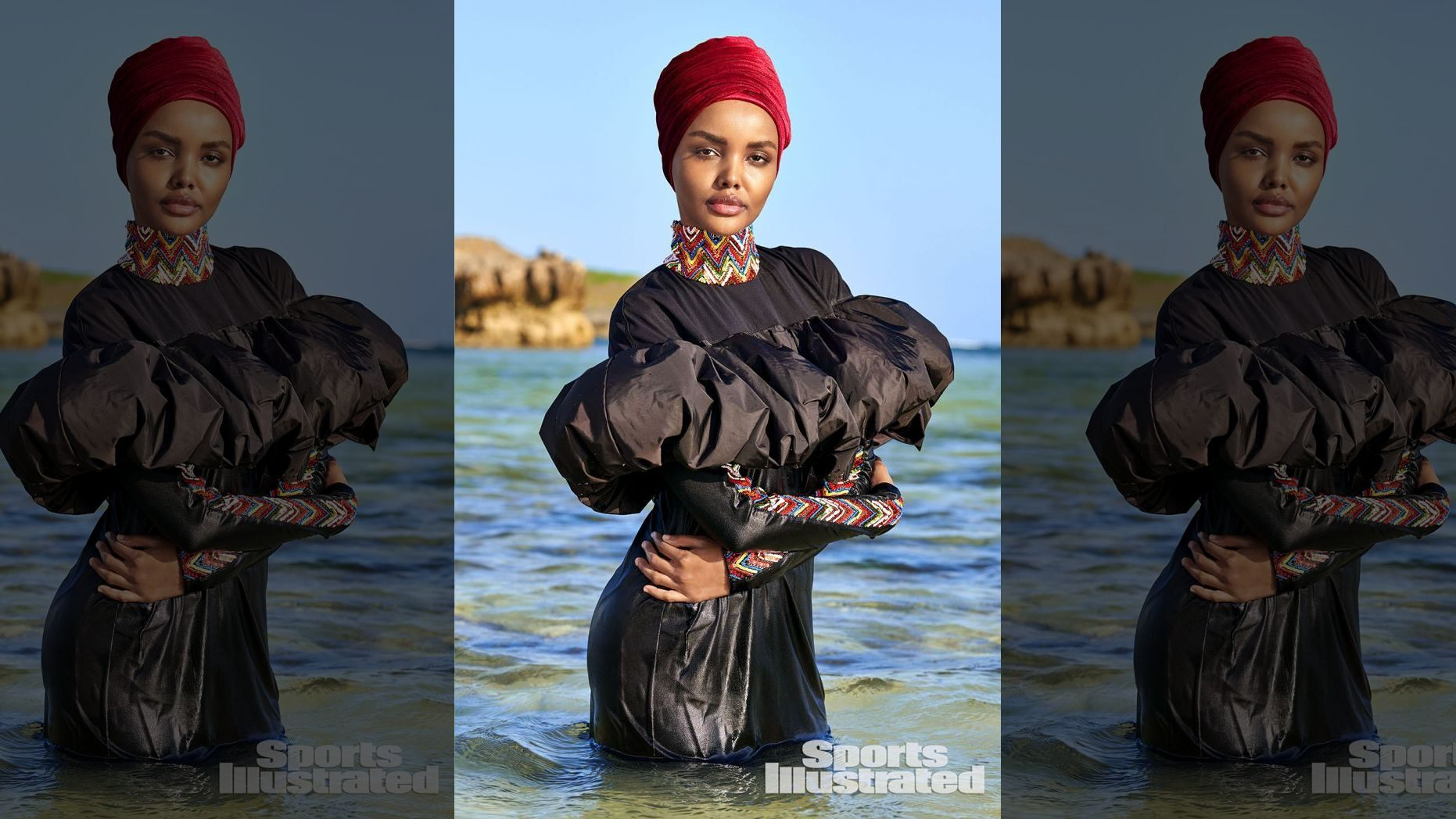Sports Illustrated announced that Halima Aden