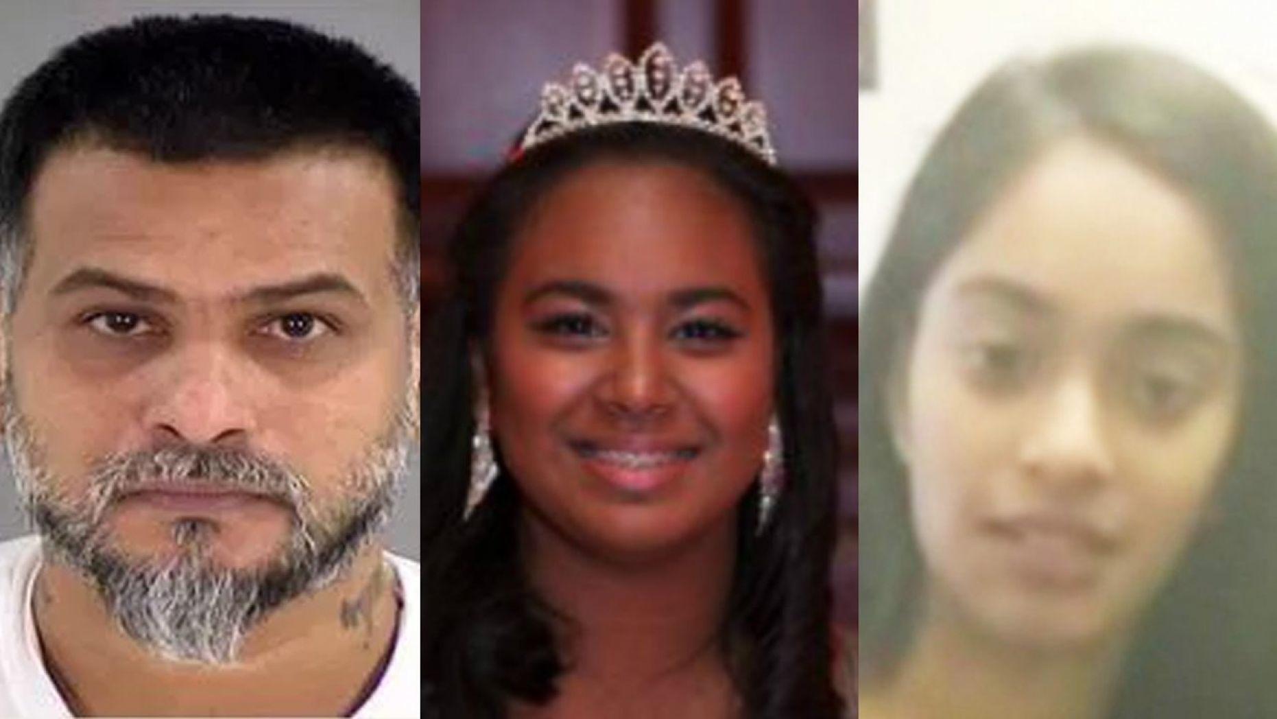 Abdool Zaman, Vanessa Zaman and Leona Samlall.