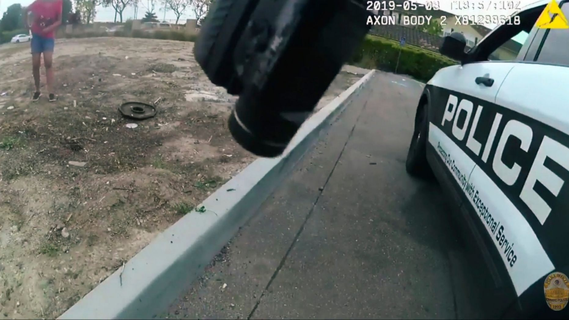 Body camera footage showed