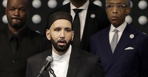 Muslim imam Imam Omar Suleiman, 33,