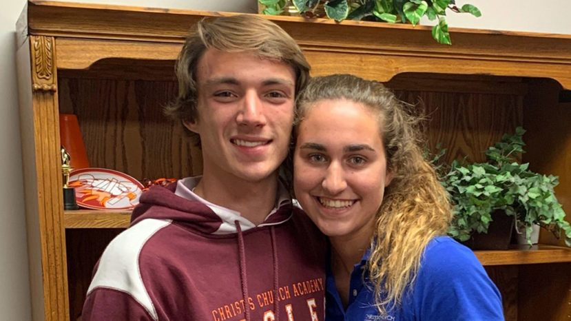 Tyler Smith and Heather Brown,