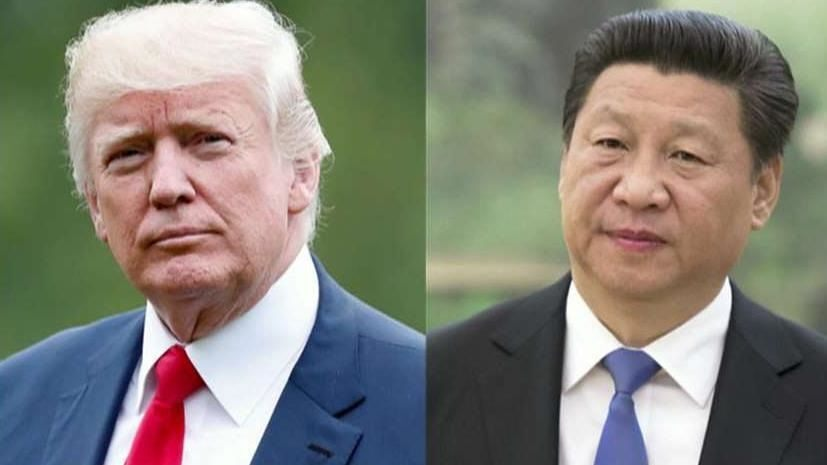 "Chinese President Xi Jinping called President Trump his ""friend"""