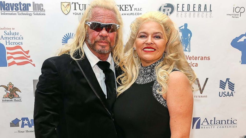 "Duane ""Dog the Bounty Hunter"" Chapman and Beth Chapman attend the Vettys Presidential Inaugural Ball"