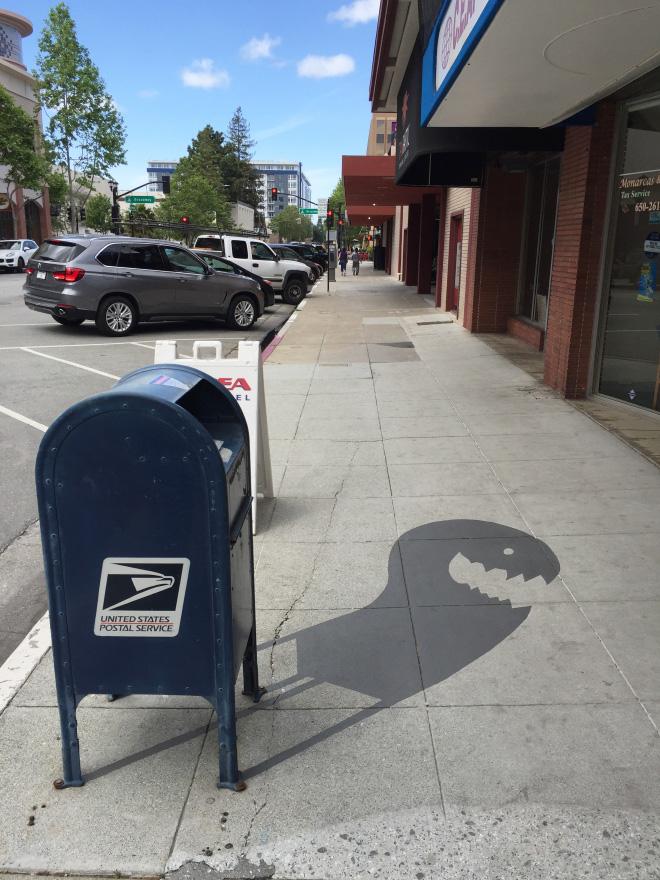 Street Artist Damon Belanger,