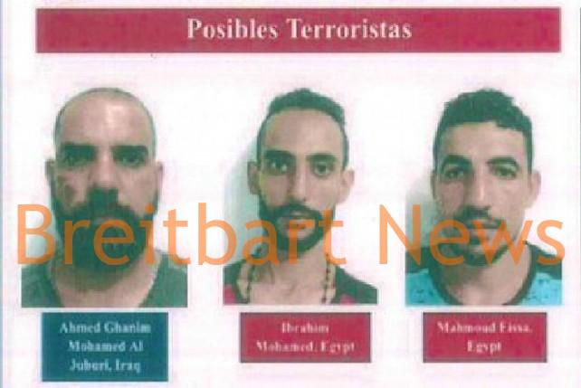 Ahamed Ghanim Mohamed Al Juburi from Iraq, and Ibrahim Mohamed and Mohamed Eissa from Egypt