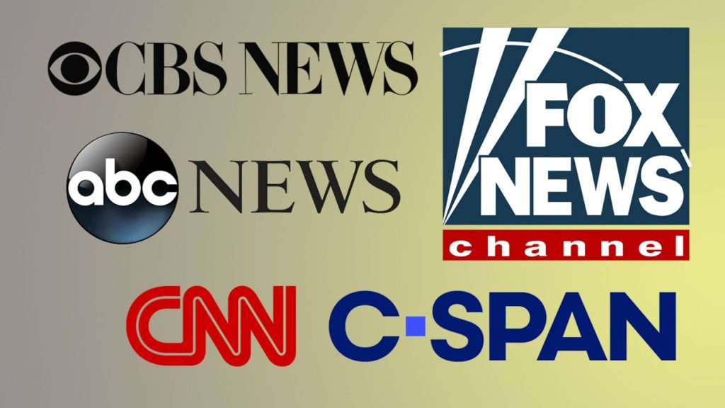 C-SPAN, Fox News, CBS News, CNN and ABC News have teamed