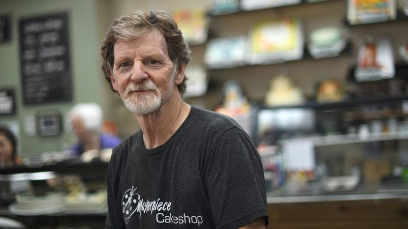 Jack Phillips,The owner of Masterpiece Cakeshop