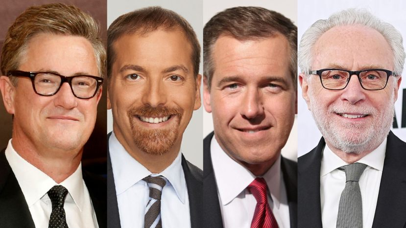 Joe Scarborough, Chuck Todd, Brian Williams and Wolf Blitzer suddenly feel there's a crisis at the border.
