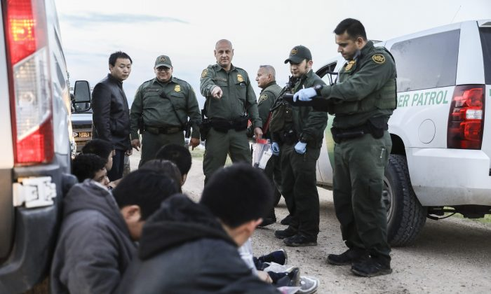 Border Patrol agents apprehend seven illegal immigrants from China,