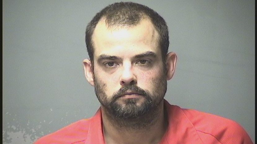 Matthew Williams, 35, was allegedly tried to bite a police K-9,