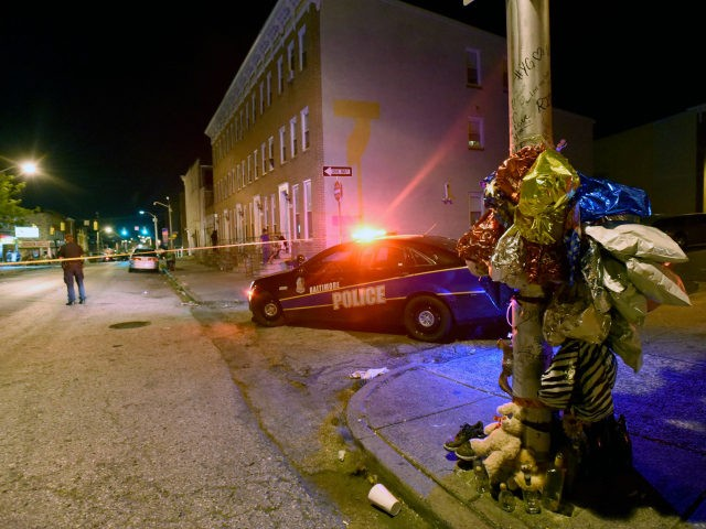 Baltimore street crime.