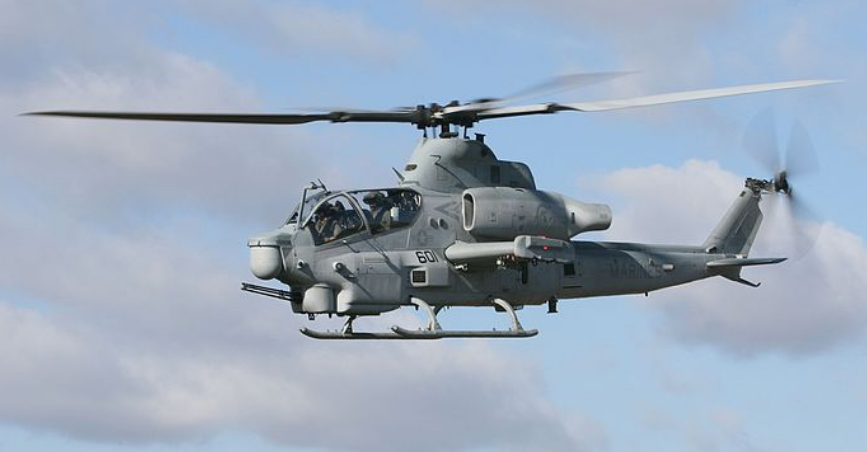 Pilots with Marine Light Attack Helicopter Training Squadron 303,